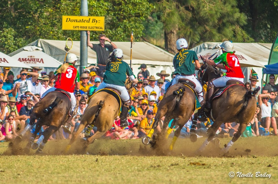 finals action back view of ladies